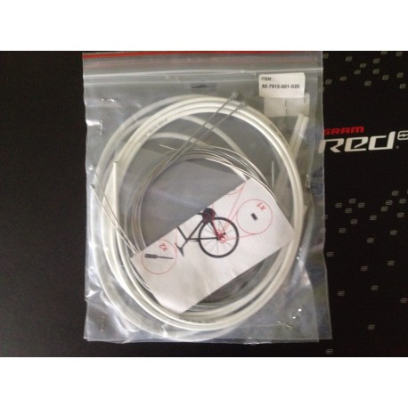 Kit Cables et Gaines  pour Freins et vitesses Sram Gore Ride On