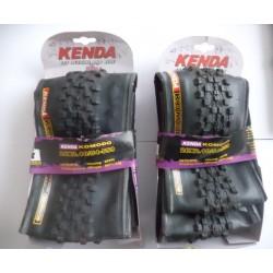 Lot de 2 pneus Kenda Komodo 26x2.10